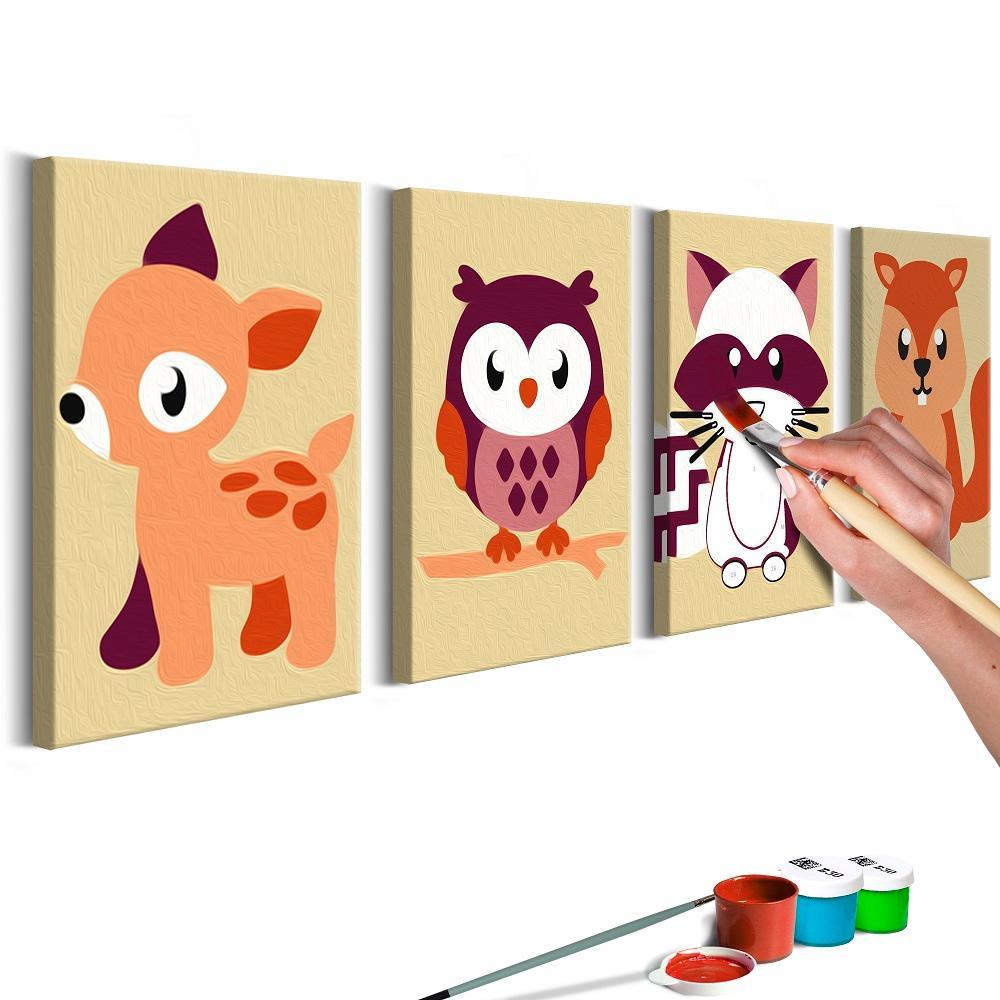 Sady na malování pro děti