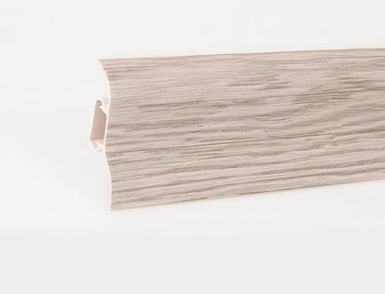 Soklová lišta LP 52  dekor dub bílý (425)