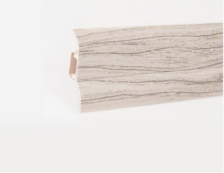 Soklová lišta LP 52 dekor bělená borovice (412)