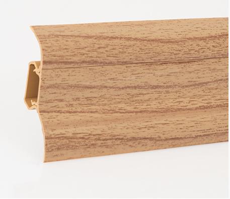 Soklová lišta LP 52  dekor ořech (470)