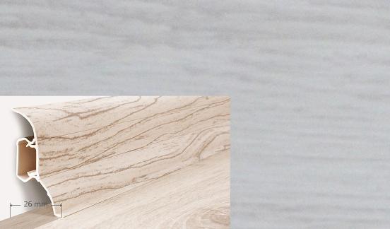 Soklová lišta Quadro dekor dub nike (014Q)