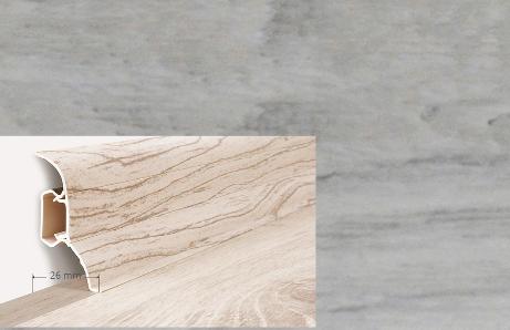Soklová lišta Quadro dekor dub chillout (013Q)