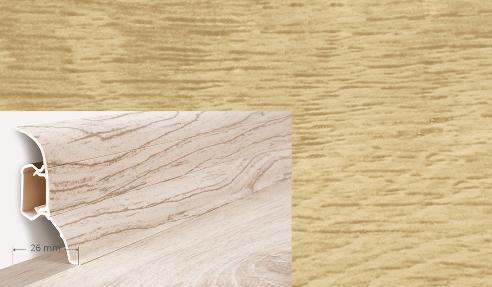 Soklová lišta Quadro dekor dub monaster (021Q)