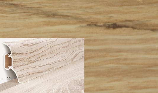 Soklová lišta Quadro dekor dub darwen (010Q)