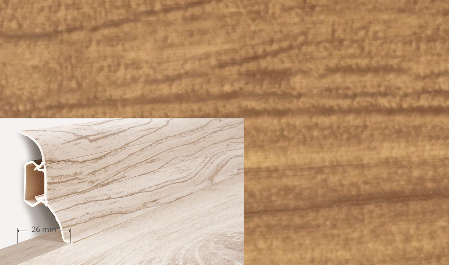 Soklová lišta Quadro dekor dub hradní (150Q)