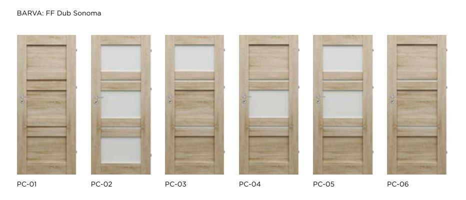 Rámové interiérové dveře VIVENTO - PRESTIGE PC