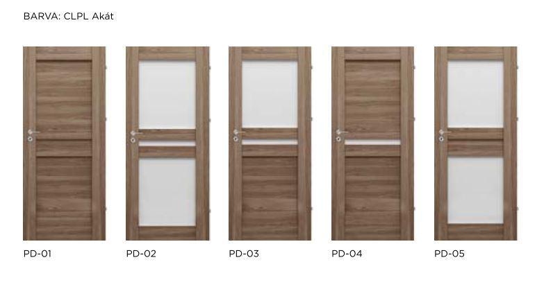 Rámové interiérové dveře VIVENTO - PRESTIGE PD
