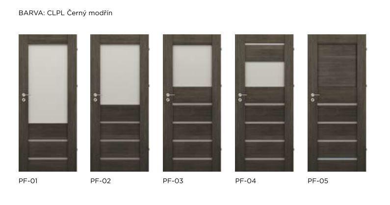 Rámové interiérové dveře VIVENTO - PRESTIGE PF