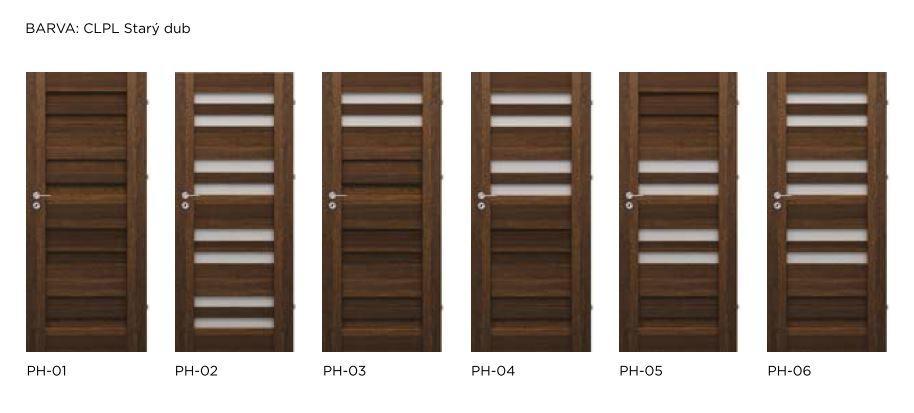 Rámové interiérové dveře VIVENTO - PRESTIGE PH
