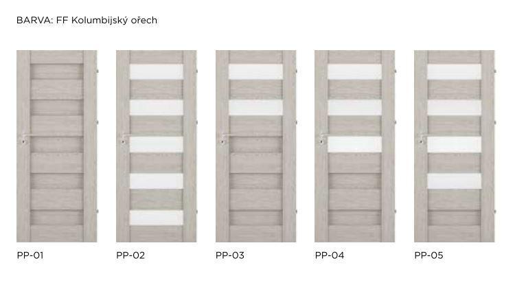 Rámové interiérové dveře VIVENTO - PRESTIGE PP