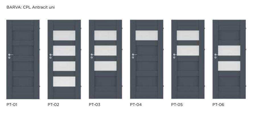 Rámové interiérové dveře VIVENTO - PRESTIGE PT