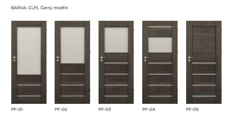 Bezfalcové rámové interiérové dveře - VIVENTO - PRESTIGE PF