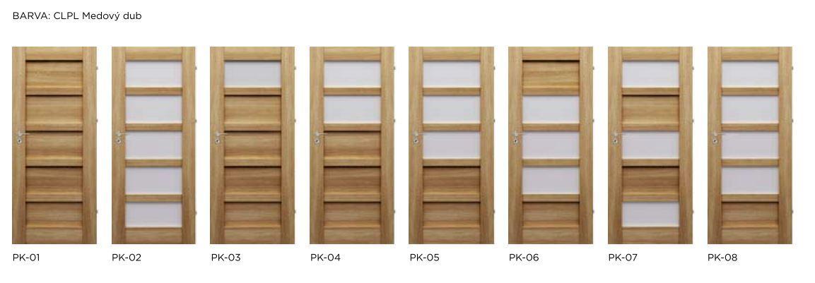 Bezfalcové rámové interiérové dveře - VIVENTO - PRESTIGE PK