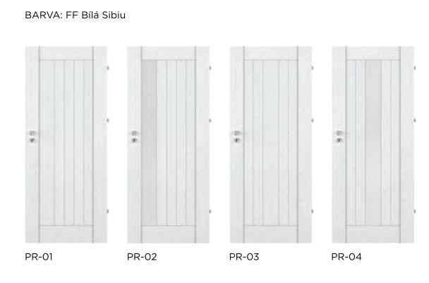Bezfalcové rámové interiérové dveře - VIVENTO - PRESTIGE PR