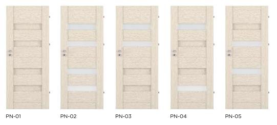 Rámové interiérové dveře VIVENTO - PRESTIGE PN