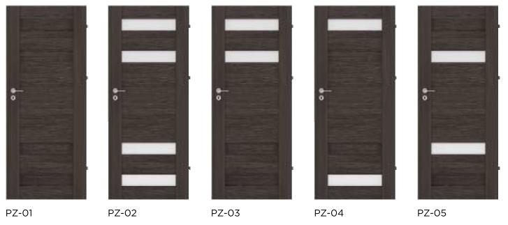 Rámové interiérové dveře VIVENTO - PRESTIGE PZ