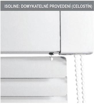 ISOLINE: Domykatelné provedení (celostín)