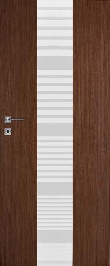 Interiérové dveře DRE Vetro B3 přírodní dýha (NATURA)