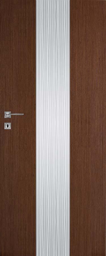 Interiérové dveře DRE Vetro B11 přírodní dýha (NATURA)