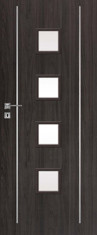 Interiérové dveře DRE Galeria Alu 13