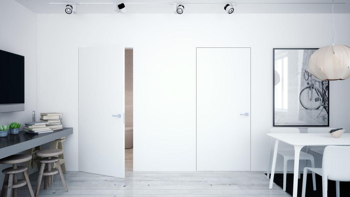Interiérové dveře DRE Standard CPL Bulaj kovový