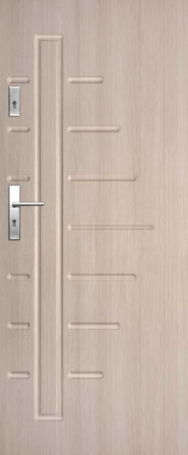 Vchodové dveře do bytu DRE Solid 15