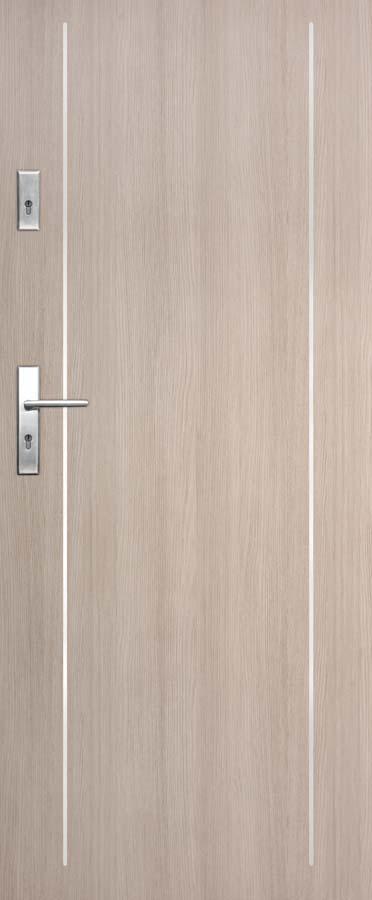 Vchodové dveře do bytu DRE SOLID 21
