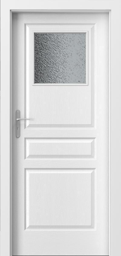 Interiérové dveře Porta Vídeň - malé okno