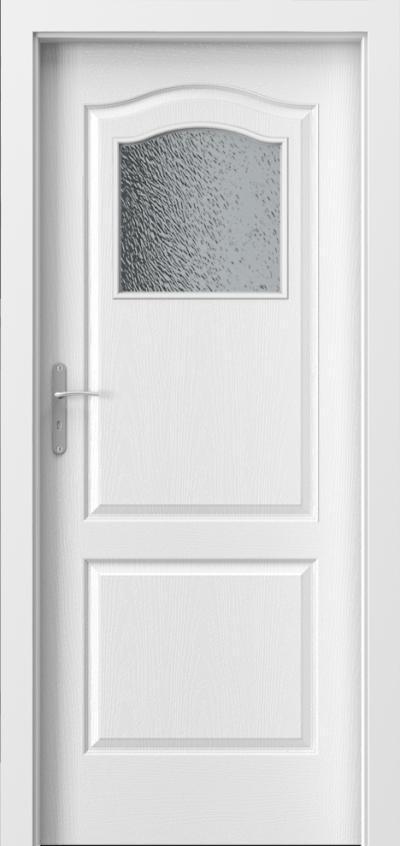 Interiérové dveře Porta Londýn - malé okno