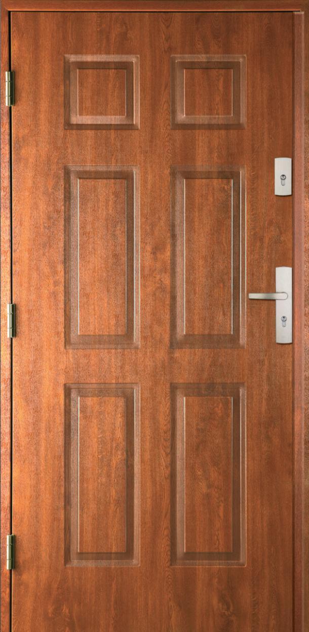 Vchodové dveře do domu MIKEA Prima Thermo 4+2 Panely