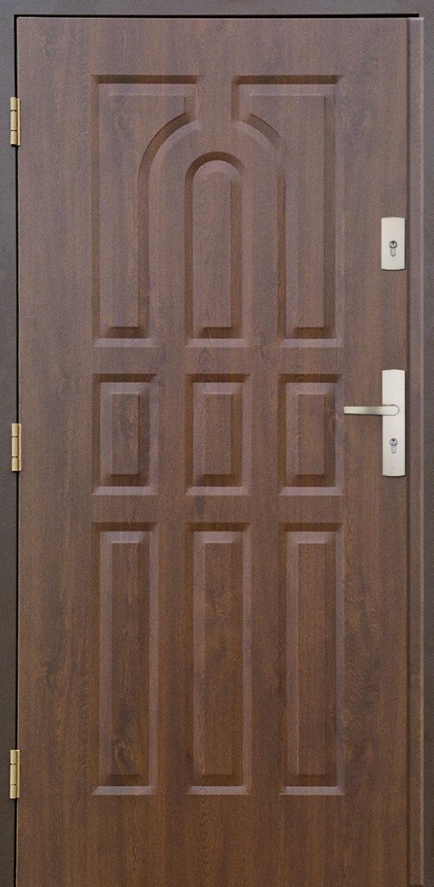 Vchodové dveře do domu MIKEA Prima Thermo 9 Panelů