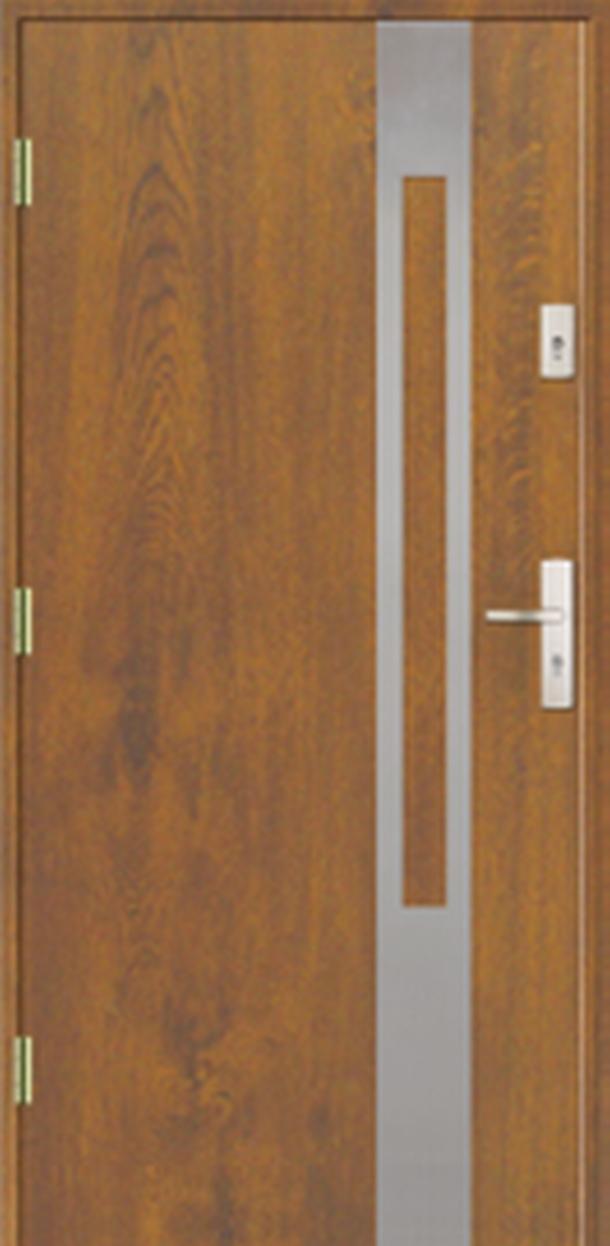 Vchodové dveře do domu MIKEA Prima Thermo Elevado 1 s aplikací
