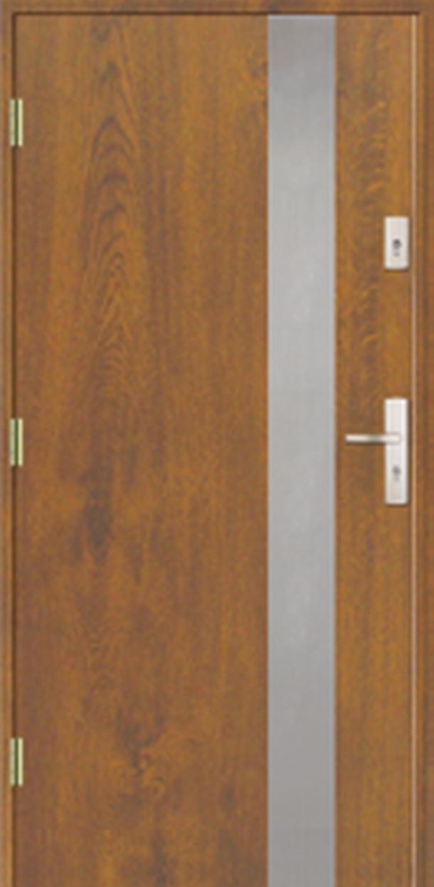 Vchodové dveře do domu MIKEA Prima Elevado 1P s aplikací