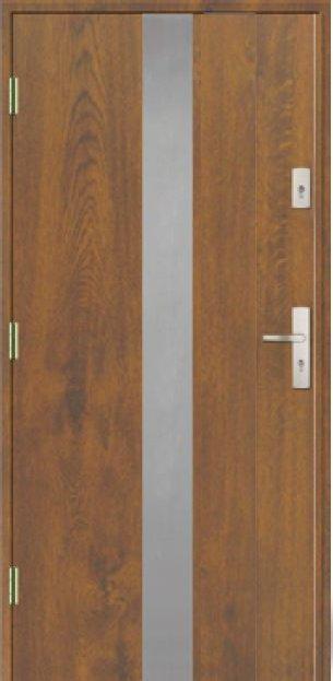 Vchodové dveře do domu MIKEA Prima Thermo Elevado 2P s aplikací