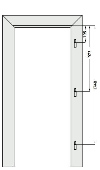 Nastavitelná obložka falcová Windoor PP a CPL
