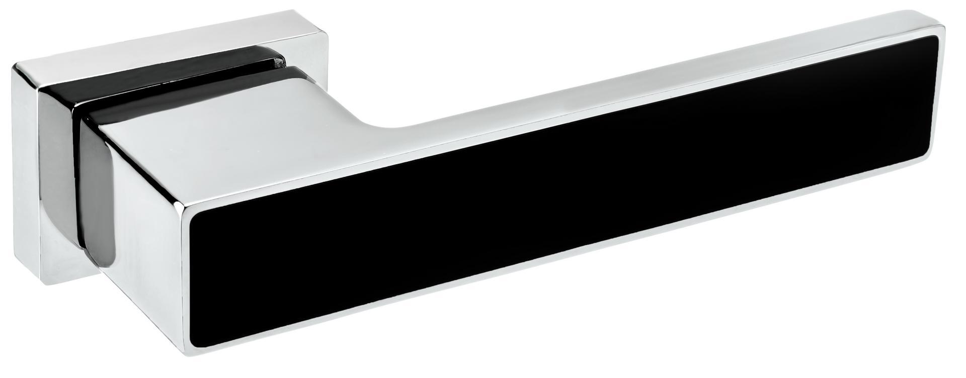 Rozetové kování ROYAL VR1 Chrom lesklý/matná černá RAL 9005