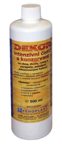Intenzivní čistič a regenerát na plastová okna - dekor, 250ml