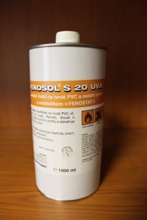 Čistič na plastová okna S20UVA - 1000 ml