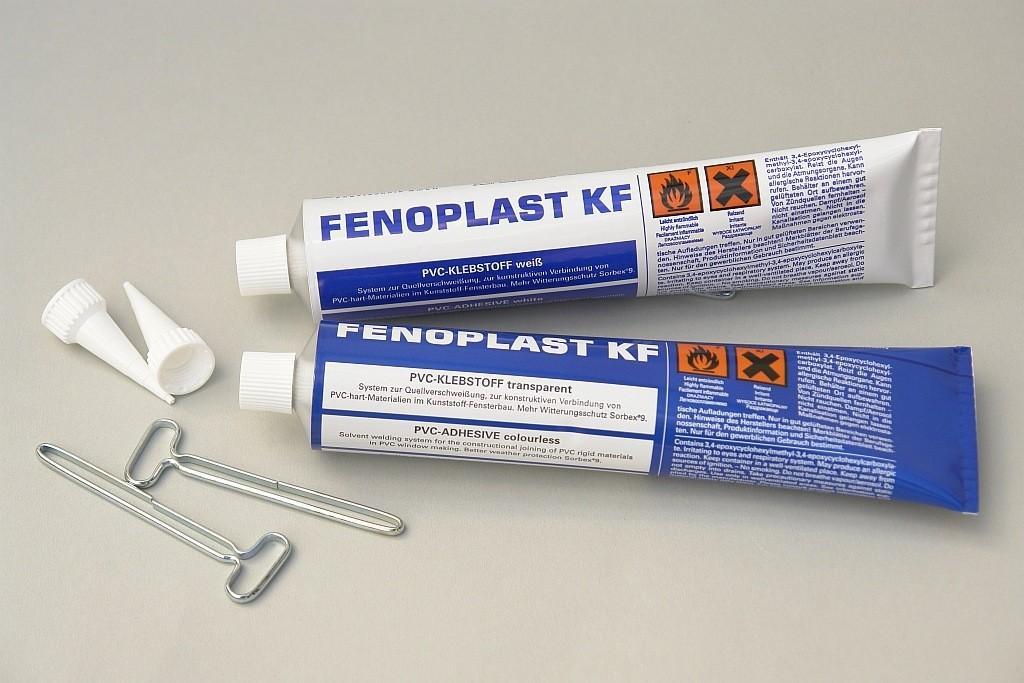 Lepidlo na tvrdé PVC a ABS - bílé