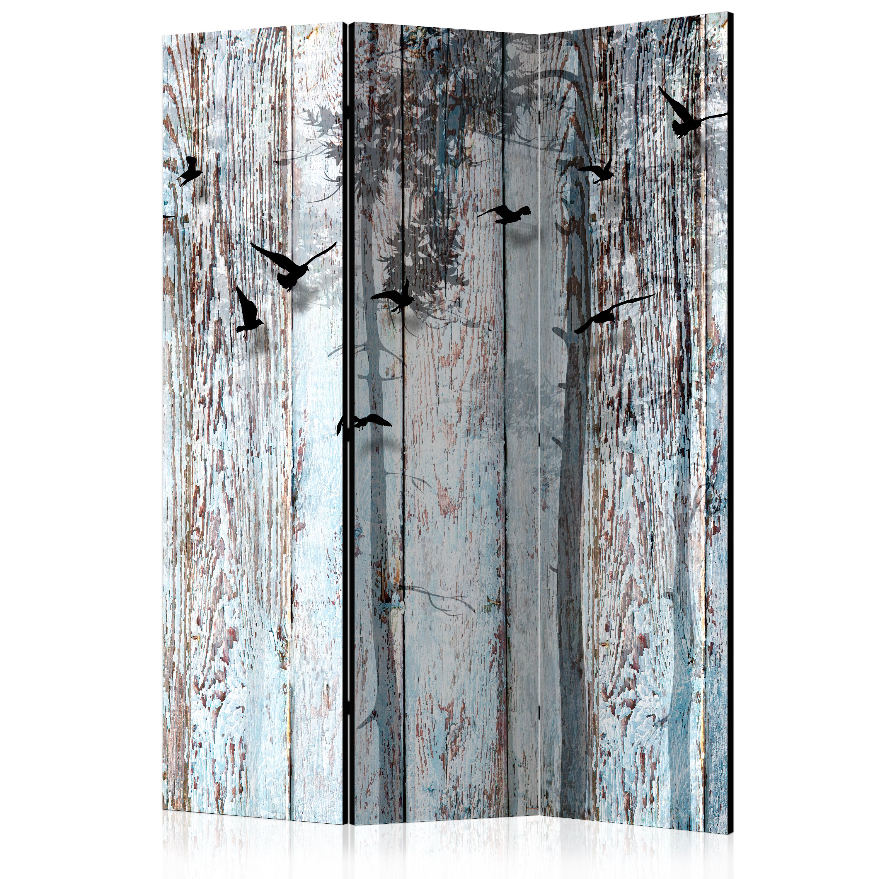 Paraván - Rustic Boards [Room Dividers] 135x172