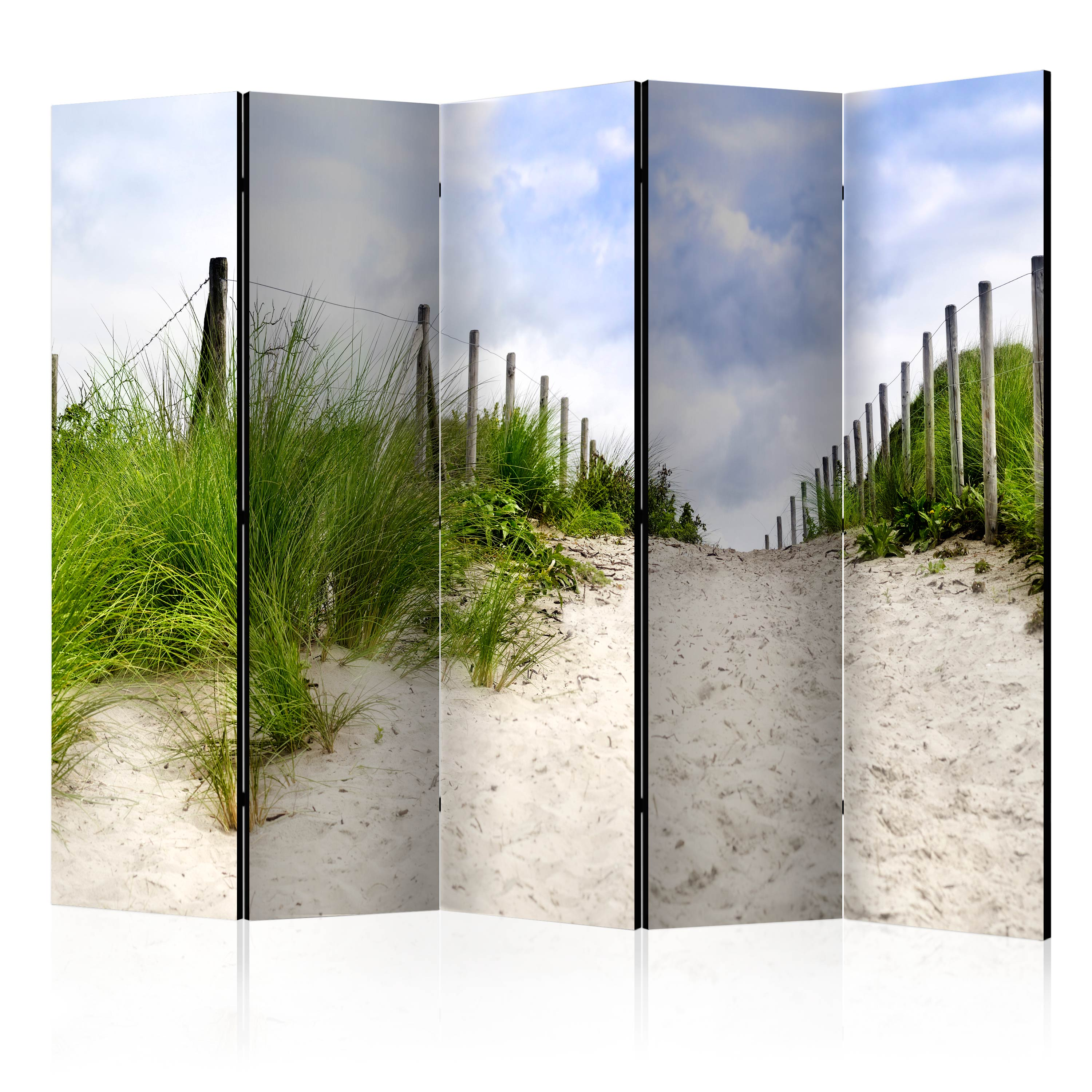 Paraván - Path to the Sea II [Room Dividers] 225x172