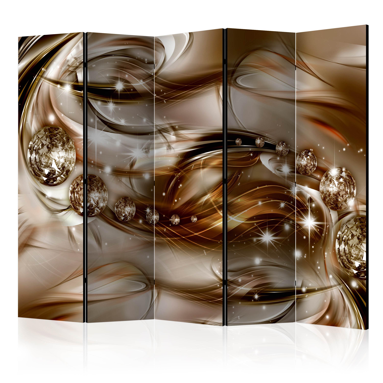 Paraván - Chocolate Tide II [Room Dividers] 225x172