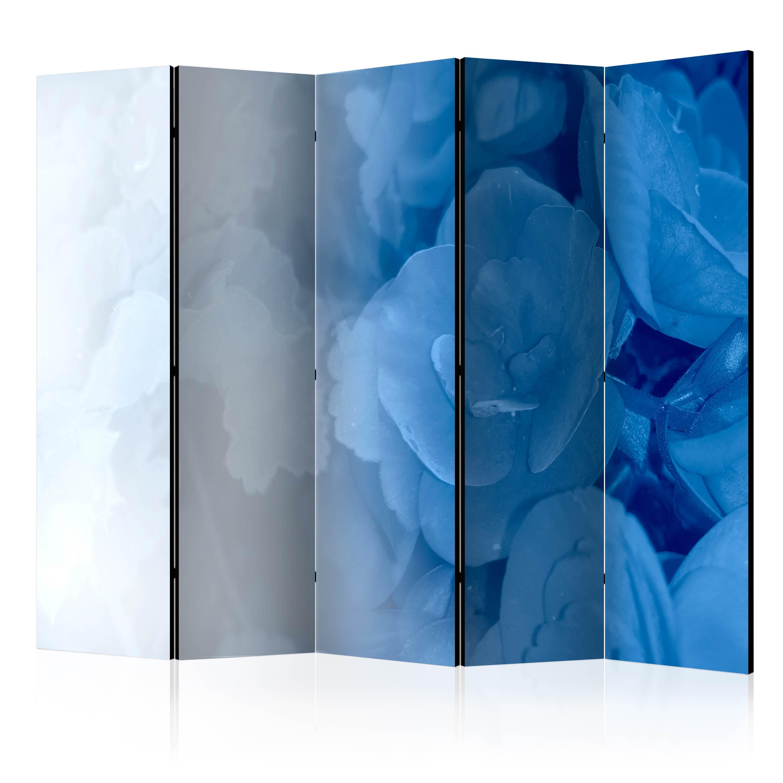 Paraván - Blue Bouquet II [Room Dividers] 225x172