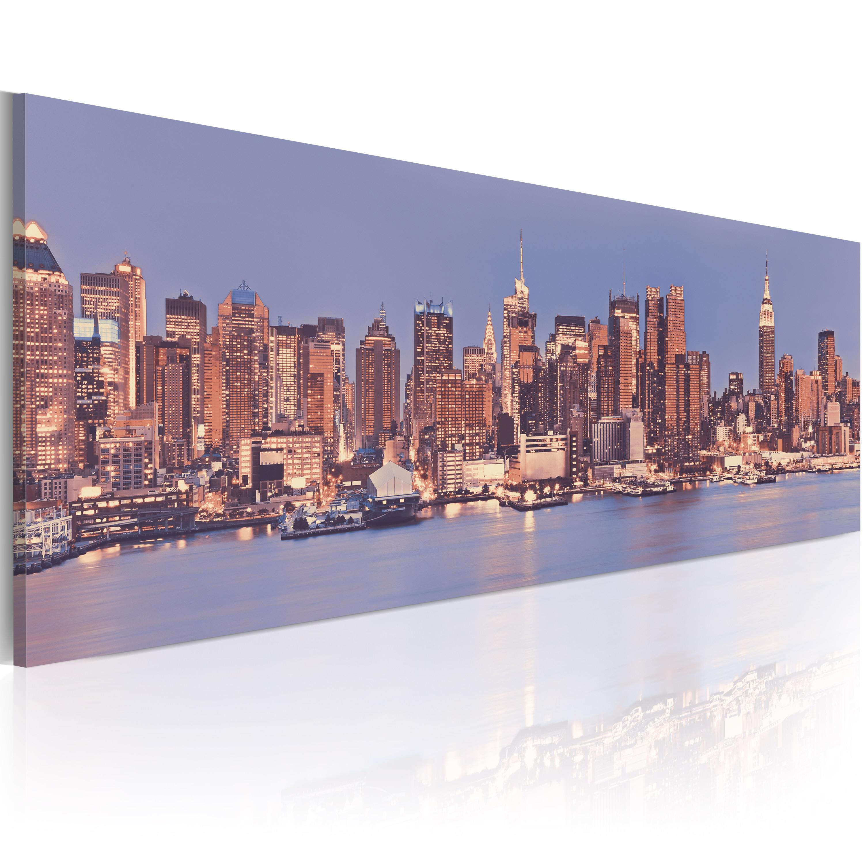 Obraz - NY - Nocturne City 150x50