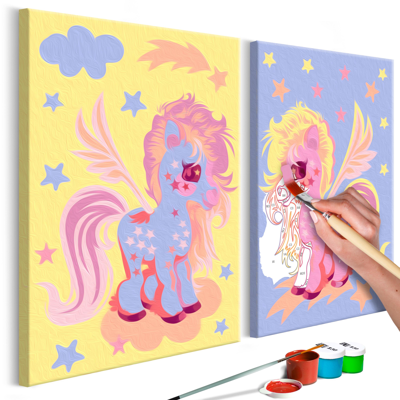 Malování podle čísel - Magical Unicorns 33x23