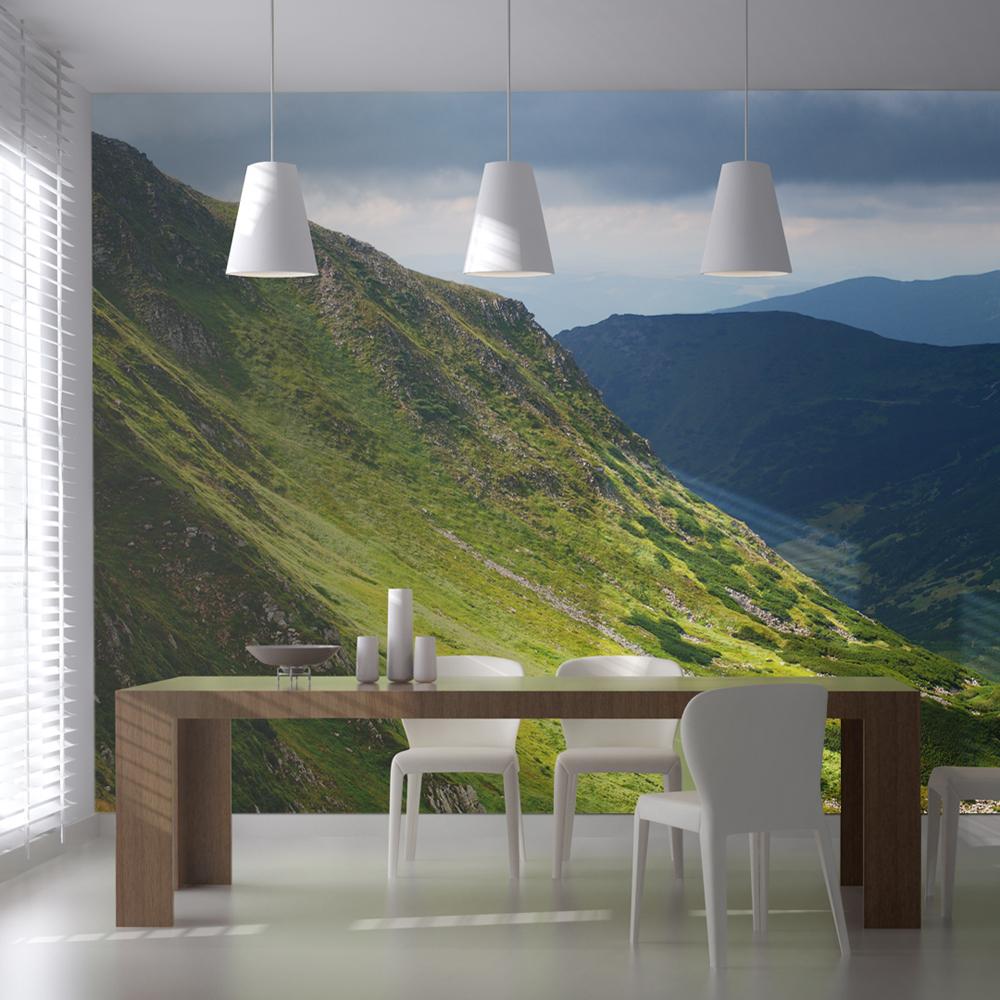 Fototapeta XXL - Green mountain landscape 550x270