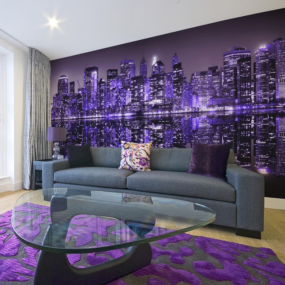 Fototapeta XXL - American violet 550x270