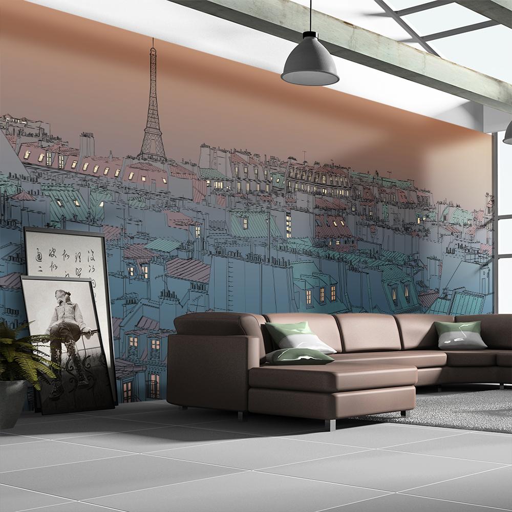 Fototapeta XXL - Good evening Paris! 550x270