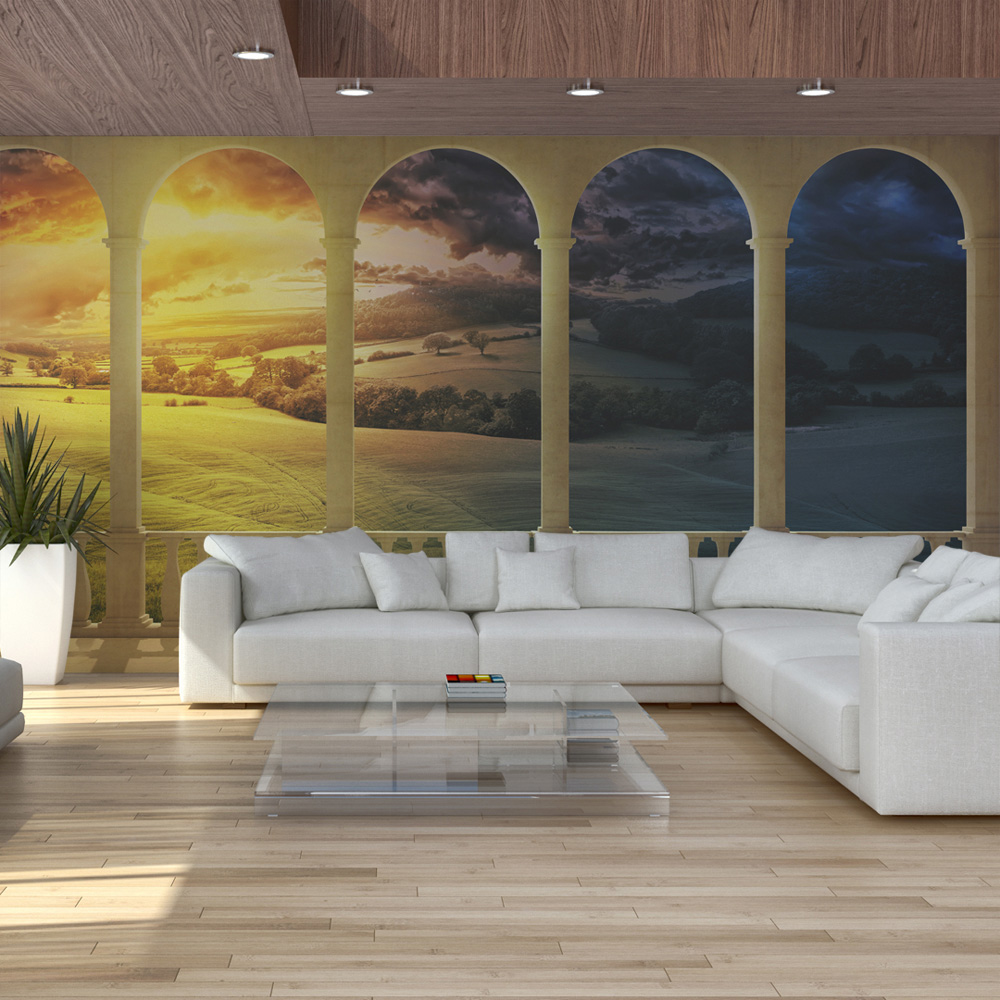 Fototapeta XXL - Dream about magical fields 550x270