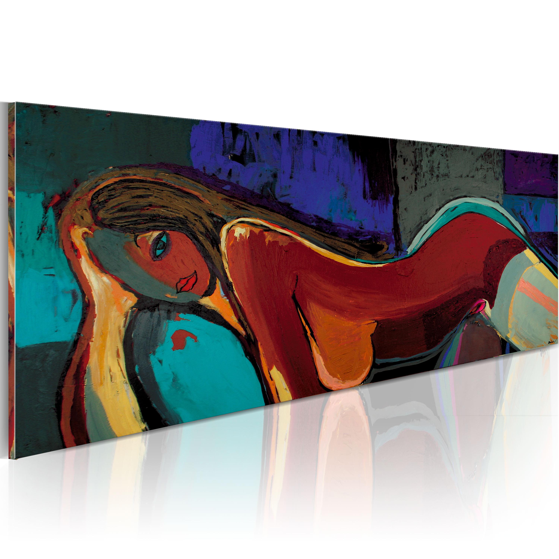 Ručně malovaný obraz - Polední zdřímnutí 120x60